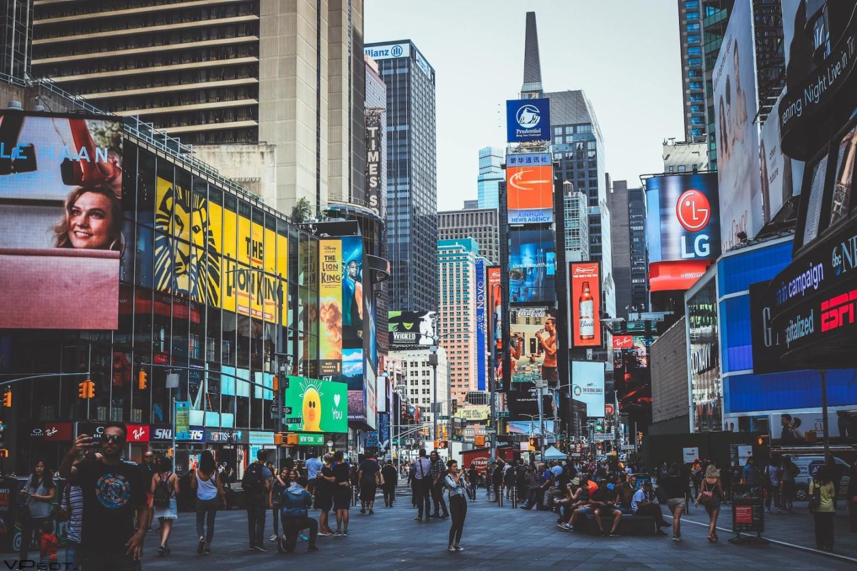 Time Square billboards