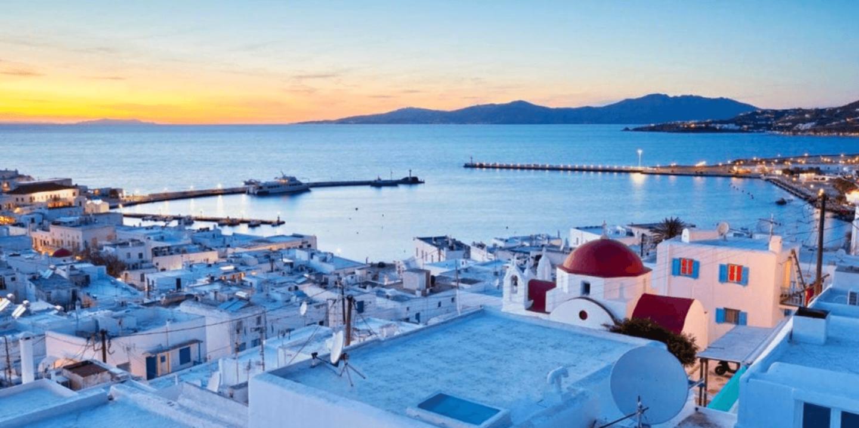 greek village on the coast