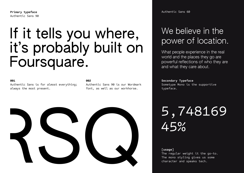 Image: Rebrand typography sample