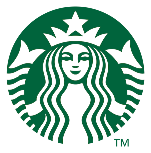 The logo of Starbucks
