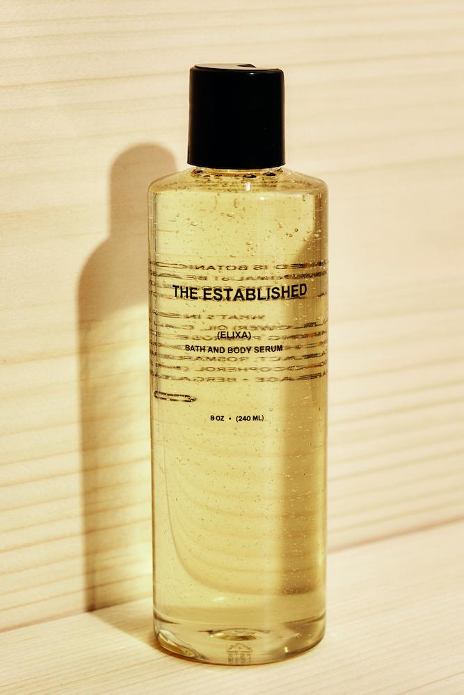 The Established Elixa Bath and Body Serum