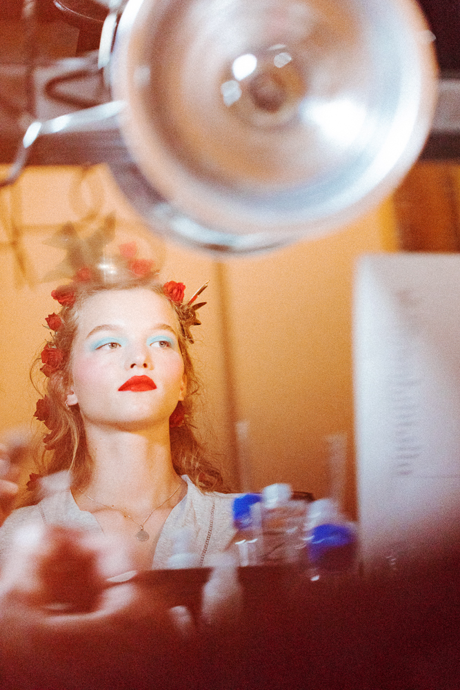 Rodarte backstage 19