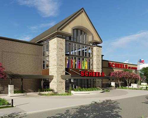 SCHEELS Breaks Ground on Largest All Sports Store   Grandscape
