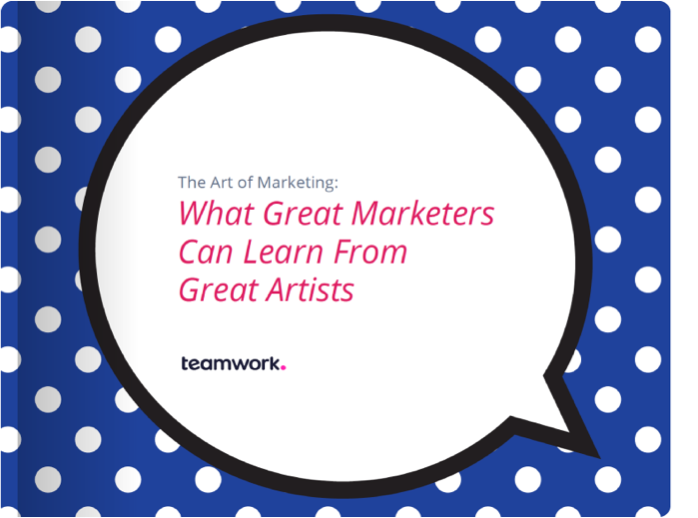 The art of marketing: what great marketers can learn from great artists