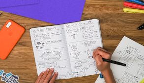 UX Design sketching