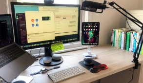 Graham's Home workspace