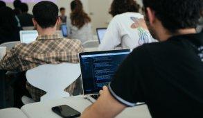 Blog Header: student on computer