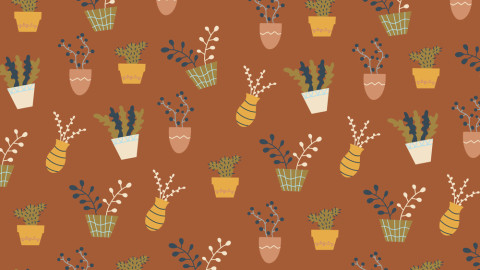 Design Inspiration: FREE Pack of 24 Illustrated Plant Icons