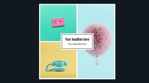 Shutterstock Collage Maker - Grid 3