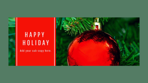 Facebook Cover - Winter Holidays