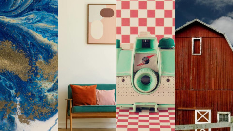 7 Fresh Color Palettes for Designing a New Autumn Season