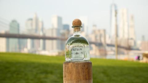 Shutterstock Custom captures skyline with Patron Tequila