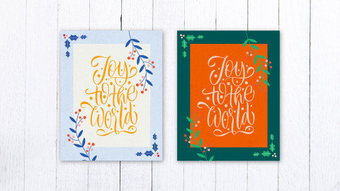 How to Make Your Own Fridge-Worthy Christmas Cards