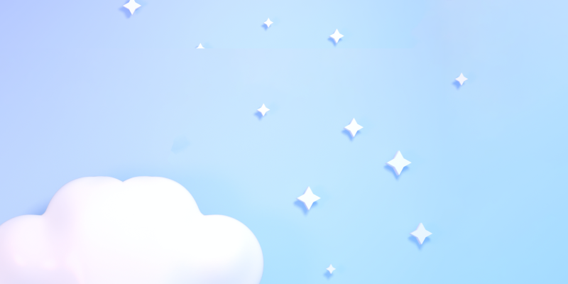 Cloud footer