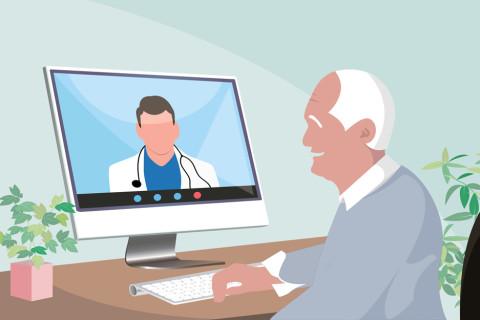 Using medical images for website