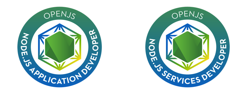 certification node js foundation developers announcing