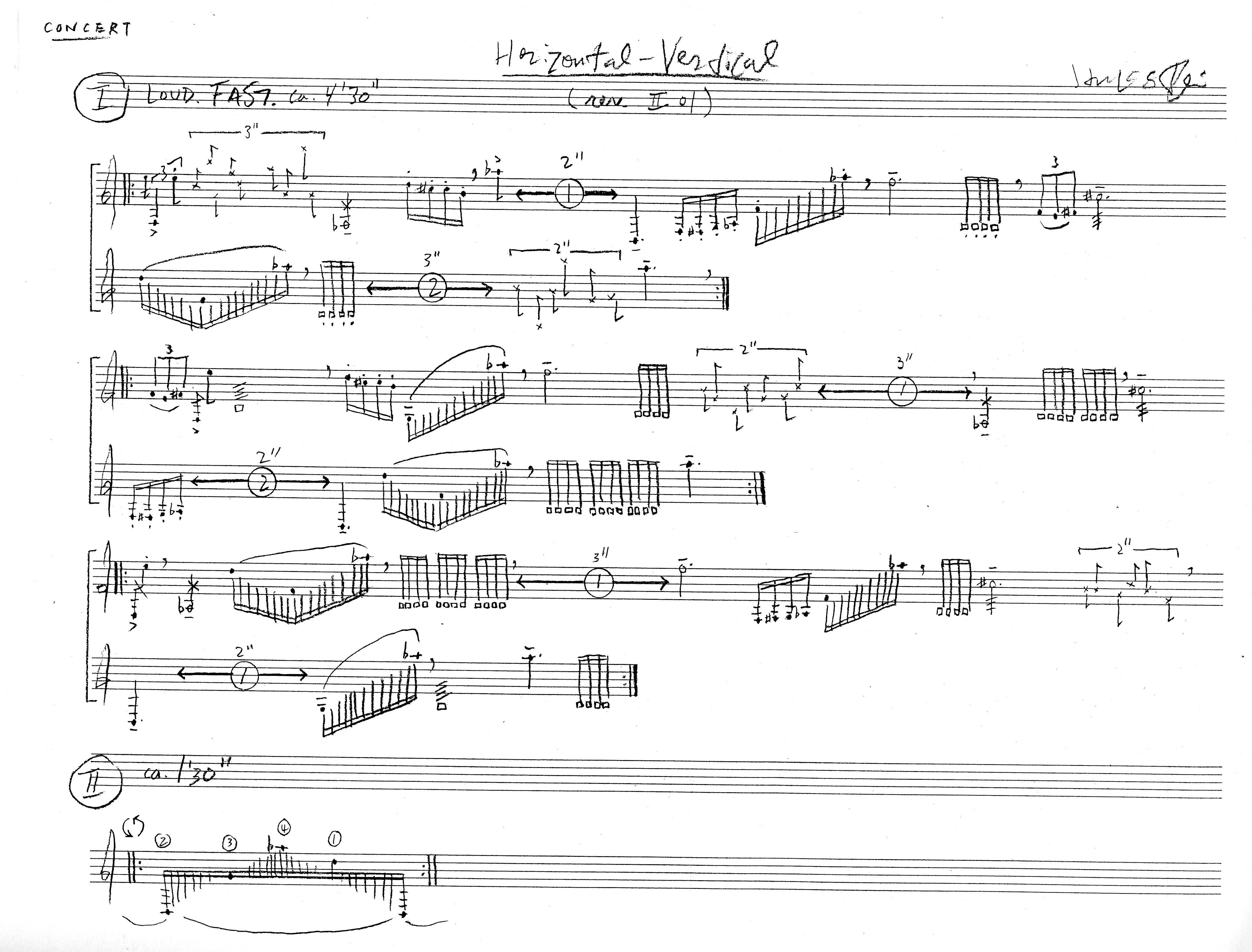 James Fei Score