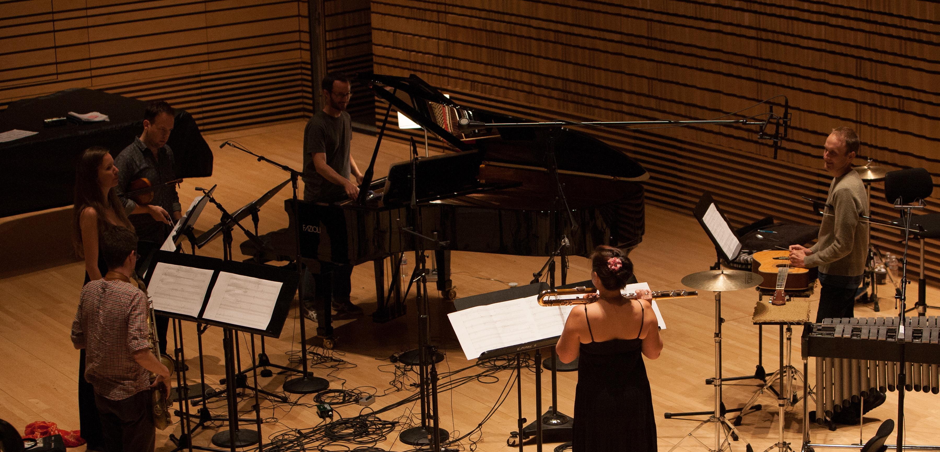 Alban Recording Session