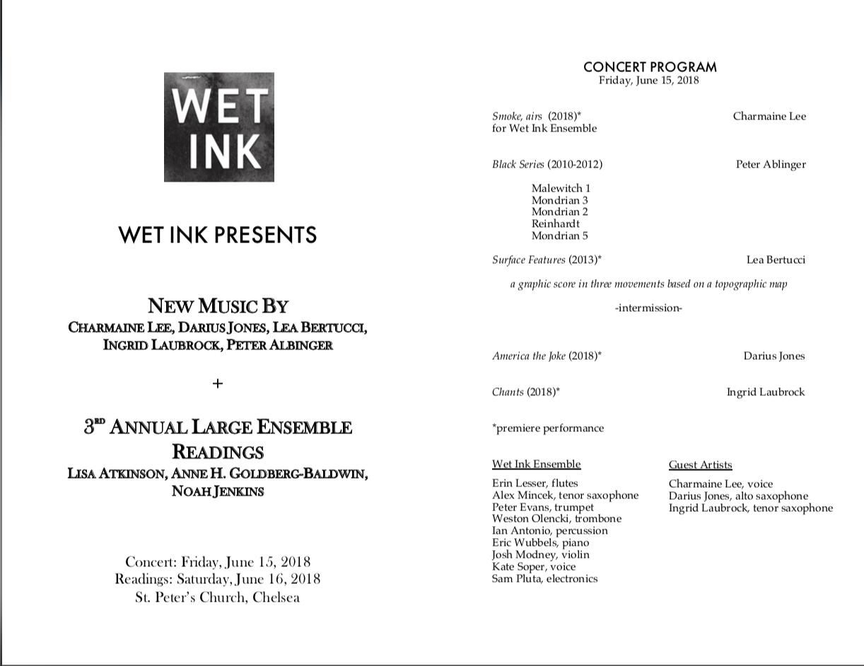 Concert Program Jun 18th