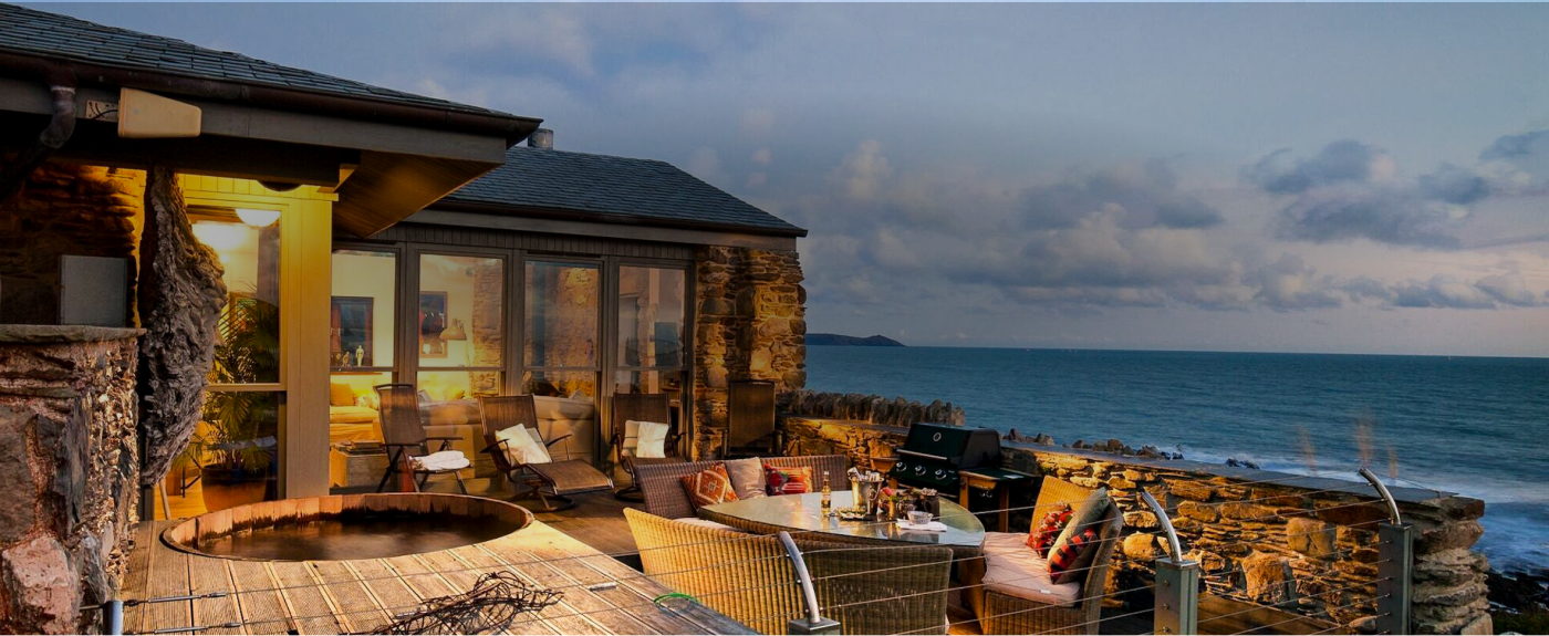 house on the beach in the UK