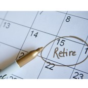retire scheduled on the calendar