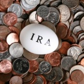 IRA Egg on Top Of Coins