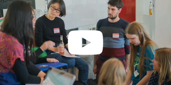 video thumbnail of the data hackathon at clue