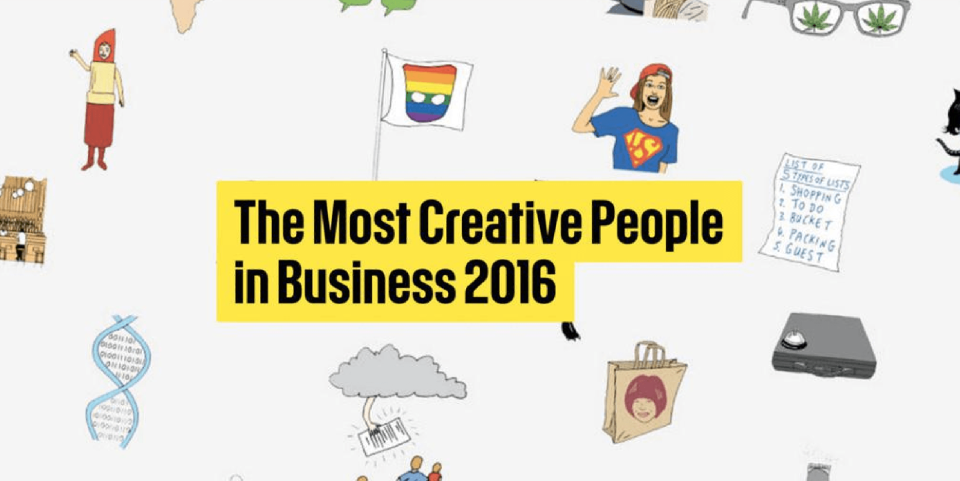 the most creative people in business 2016