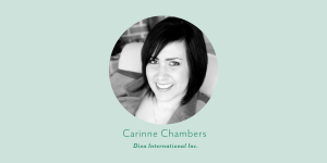 thumbnail portrait of carinne chambers from diva international inc