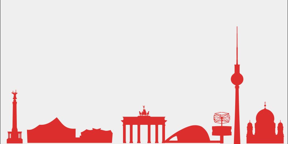 sights of the berlin skyline