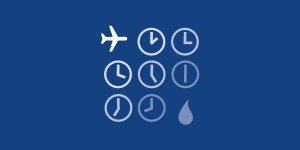 illustration of several clocks and a