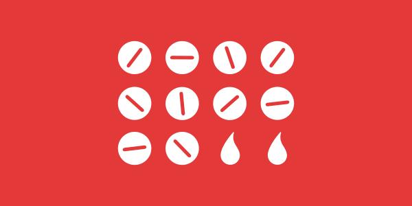 illustrated pills