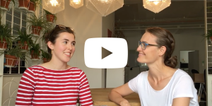 video thumbnail of ida tin in conversation with katherine on the intership at clue