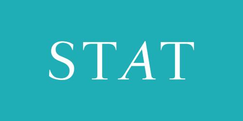STAT magazine logo