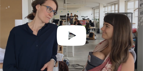 video thumbnail of ida tin in conversation with marija on parental leave at clue