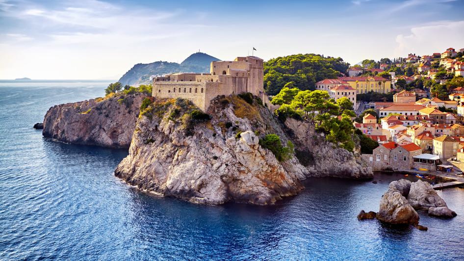 Fort Lovrijenac, Dubrovnik, Dalmatien