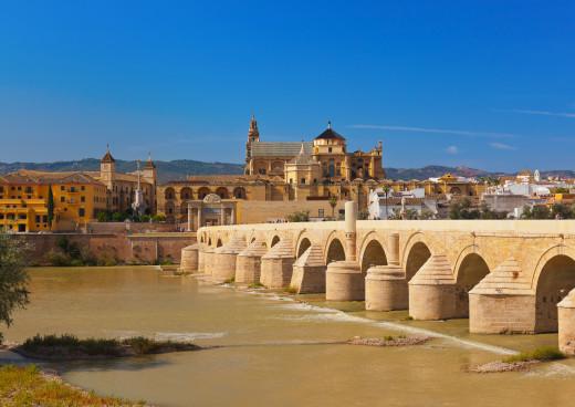 Brücke Córdoba, Spanien