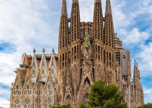 La Sagrada Familia, Barcelona, Katalonien, Costa Barcelona
