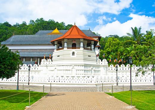 Tempel Dalada Maligawa (Zahntempel), Kandy