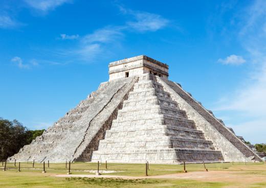 Pyramide von Chichén Itzá, Pisté, Bundesstaat Yucatan