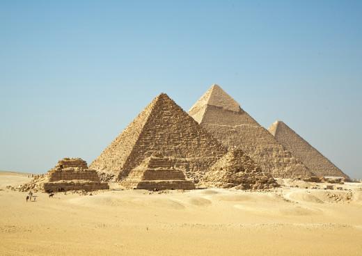 Pyramiden von Gizeh, Gizeh