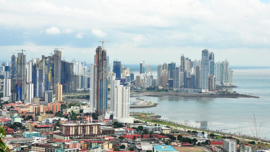 Cinta Costera und Punta Paitilla, Panama City, Panama