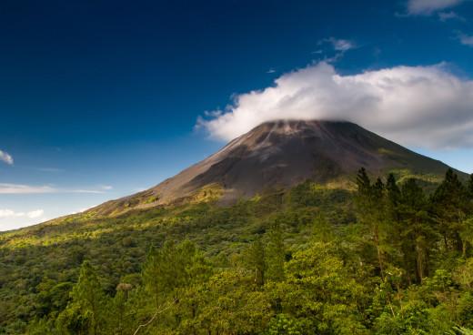 Vulkan Arenal, Arenal