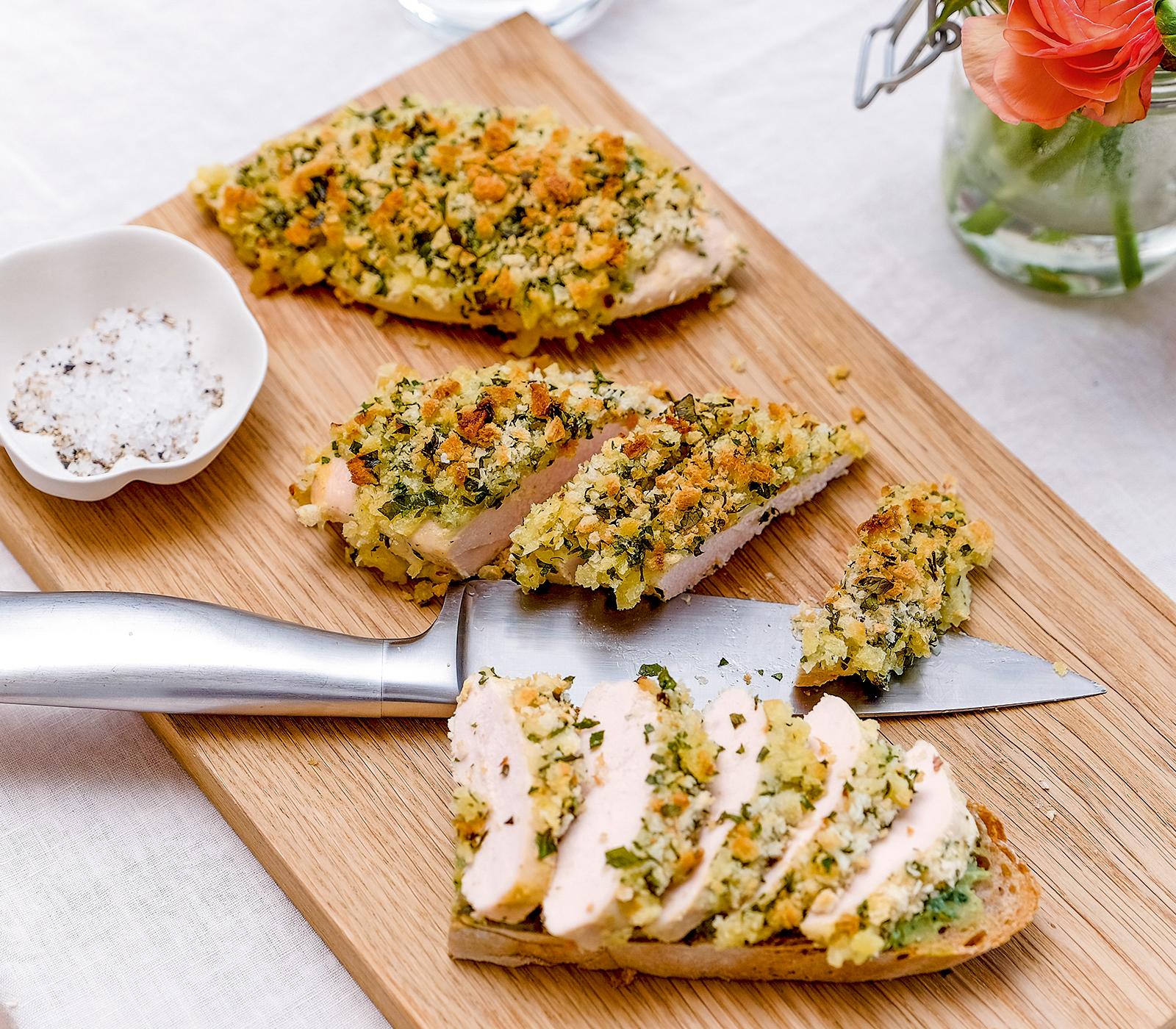 Pouletbr stchen mit senfkruste annemarie wildeisens kochen - L ei weich kochen ...