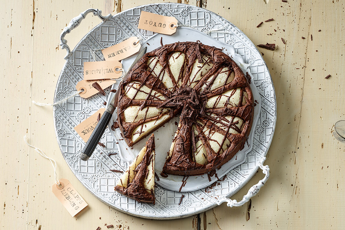 Birnen Schokoladen Kuchen Annemarie Wildeisens Kochen