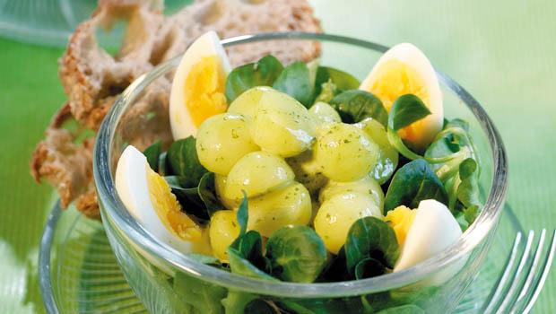 N sslisalat mit kartoffeln und ei annemarie wildeisens kochen - L ei weich kochen ...
