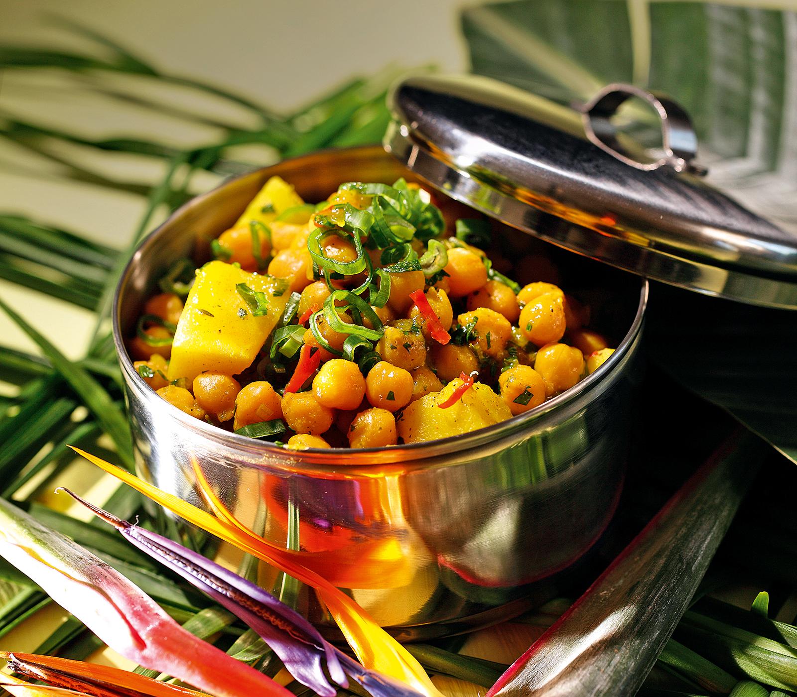 Kichererbsen kartoffel curry annemarie wildeisens kochen for Kochen 4 personen