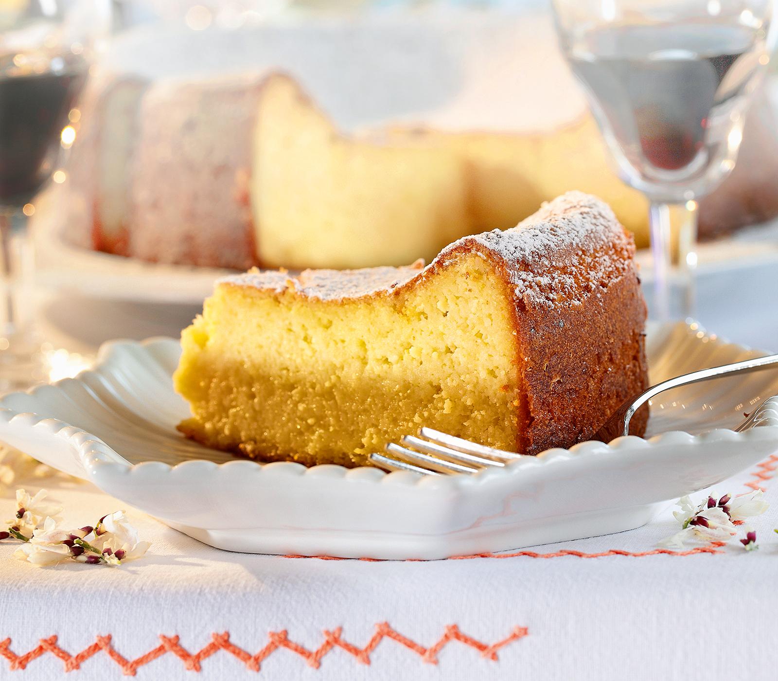 Ricotta Torte Mit Mandeln Und Zitronen Annemarie Wildeisens Kochen