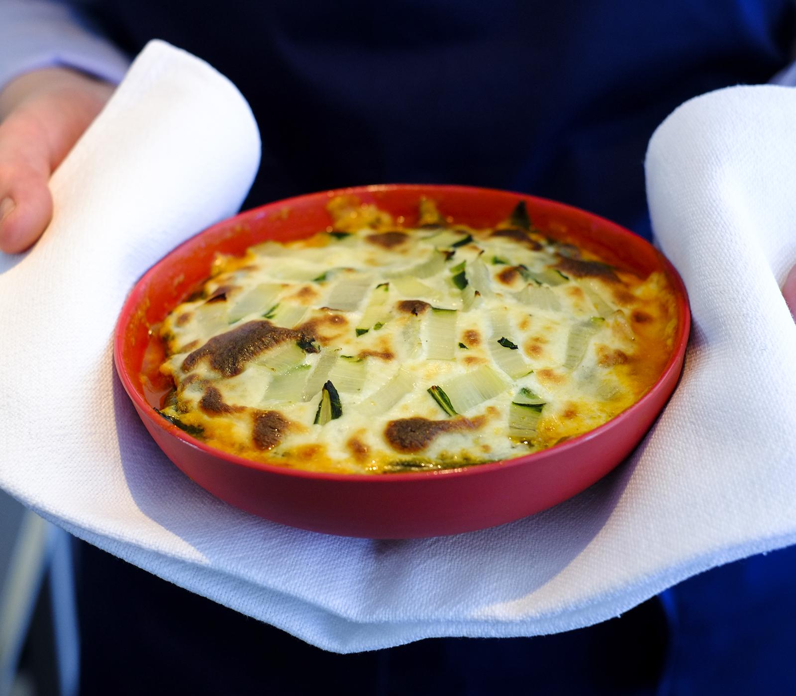 Krautstiel lasagne annemarie wildeisens kochen for Kochen 5 personen