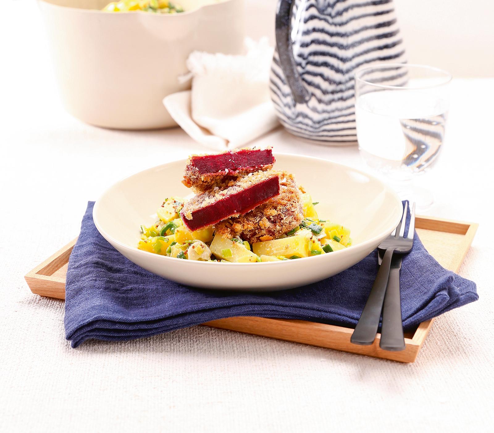 knusprige randen auf kartoffelsalat annemarie wildeisens kochen. Black Bedroom Furniture Sets. Home Design Ideas